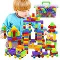 Juguetes De Madera 180 Unids Niños En Grandes Bloques de Montaje de Plástico Ladrillos Educativos Niños Juguete de Aprendizaje Temprano 3-6 Años de edad