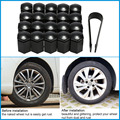 Car-styling 17*30mm Black 20Pcs/set Vehicle Auto Car Wheel Nut Bolt Cover Cap for VAUXHALL Cars