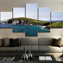 HD Print Large 5 Piece Ireland Waters Poster Modern Decorative Paintings on Canvas Wall Art for Home Decorations Wall Decor цена