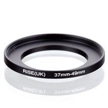 Original AUFSTIEG (UK) 37mm 49mm 37 49mm 37 zu 49 Step Up Ring Filter Adapter schwarz