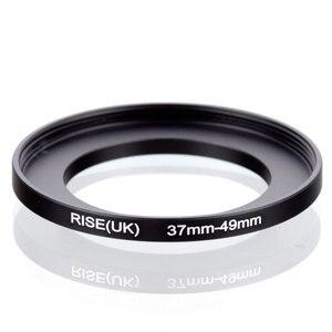 Image 1 - オリジナル RISE (英国) 37 ミリメートル 49 ミリメートル 37 49 ミリメートル 49 ステップアップリングフィルターアダプターに 37 黒