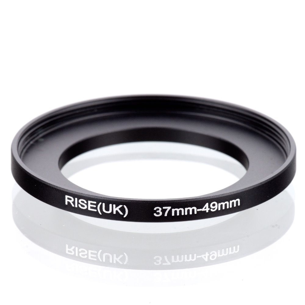 Original RISE(UK) 37mm-49mm 37-49mm 37 To 49 Step Up Ring Filter Adapter Black
