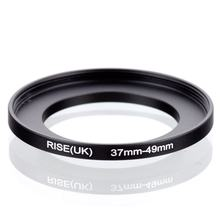 original RISE(UK) 37mm-49mm 37-49mm 37 to 49 Step Up Ring Filter Adapter black(China)