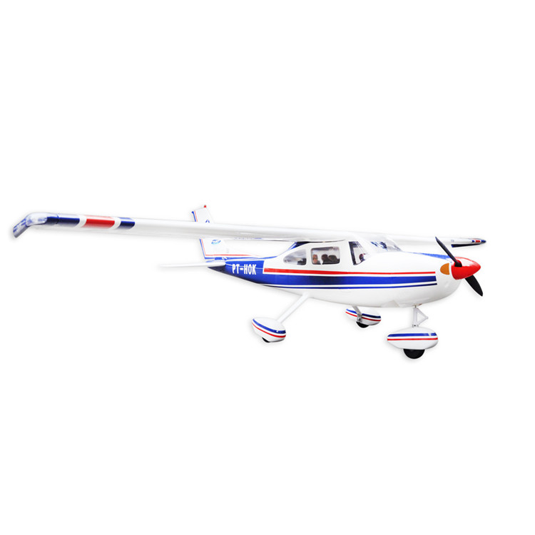 Balsa Wood Amphibious Cessna 182 Fixed Wing RC Airplane Model 1720mm Wingspan 60 Class Glow Electric With Float image