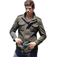 Tactical Jacket Men Military Flight Bomber Jackets Army Combat Clothing Coat Men Casual Casual Fashon Jackets