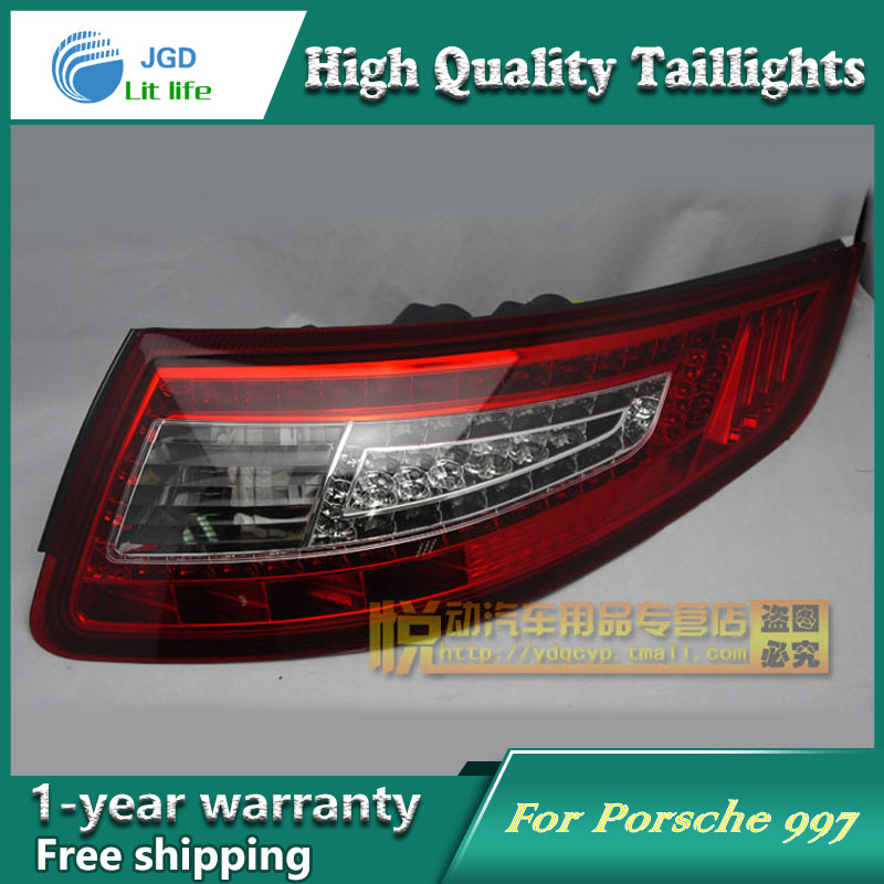 Car Styling Tail Lamp for Porsche 997 2005-2009 taillights Tail Lights LED Rear Lamp LED DRL+Brake+Park+Signal Stop Lamp car styling tail lamp for toyota hilux vigo tail lights led tail light rear lamp led drl brake park signal stop lamp