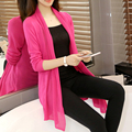 Spring Autumn Fashion Women casual loose long cardigan sweater shawl section air-conditioned cardigan Casual Outwear  MS-00-39