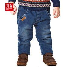 Марка брюк брюки для мальчиков дети джинсы детские брюки джинсы детская одежда зима брюк кашемир эластичный пояс джинсы