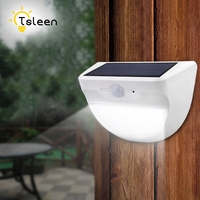 TSLEEN Luminaria Solar Powered Outdoor Led Light 24 37 46 LEDs Waterproof PIR Motion Sensor Path
