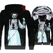 Super Hero The Dark Knight Batman Joker printed 3D hoodie men New 2019 Winter Warm fleece Jackets Mens Hoodies Sweatshirts