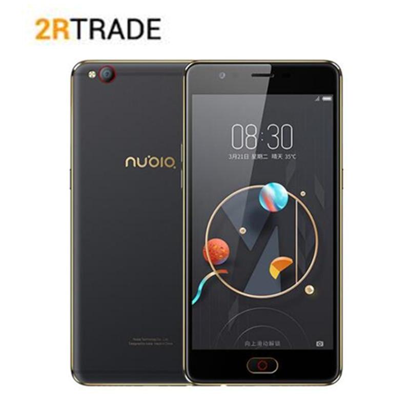 D'origine ZTE Nubia M2 LITE Octa Core 4g LTEAndroid M 5.5 3g RAM 64 gb ROM 16.0MP 3000 mah Batterie D'empreintes Digitales Smartphone