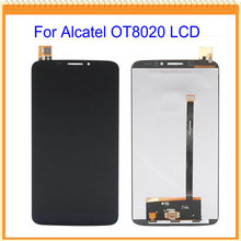 for Alcatel One Touch Hero 8020 8020D OT8020 LCD Display with touch Screen digitizer Assembly Free shipping