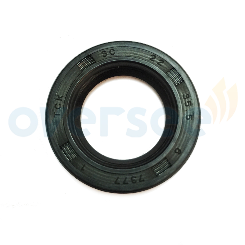OVERSEE 93101-22M60 Oil Seal Replaces For Yamaha Outboard Motor Parsun Hidea Etc 25HP 30HP 40HP Outboard Engine