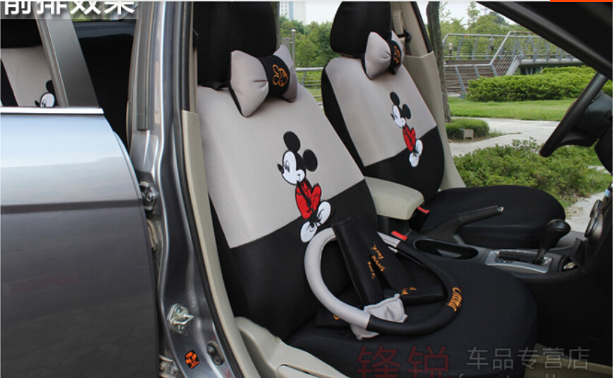Minnie Mouse Car Seat Covers New Mickey Accessories