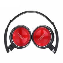 Apoio Fone de Ouvido Bluetooth Fone De Ouvido Esporte Fone de Ouvido estéreo Baixo dobrável Hifi rádio FM SD/TF cartão de Fone De Ouvido para iPhone Xiaomi PC