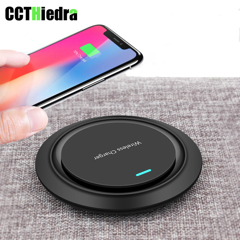 QI Wireless Phone Charger Adapter Direct Fast Wireless Charger For iPhone XS MAX XR Desktop Dock For Apple iPhone X 8 8 Plus
