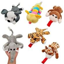1 шт., милая детская мультяшная пустышка, соска, зажимы для цепи, плюшевые игрушки для новорожденных, игрушки для малышей, пустышка, держатель для сосок, аксессуары для кормления
