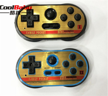 DHL doubles player Mini Video Gaming Console Build In 260 Classic Games 8 Bit Handheld Game Players Support TV Output