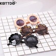 KOTTD Kids Sunglasses UV400  Sun Flower Round