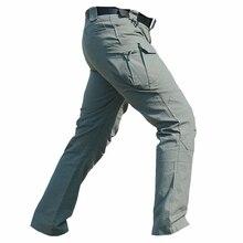 Ropa de los hombres pantalones cargo pantalones IX7 militar táctico, primavera verano casual ejército militar, pantalones de los hombres