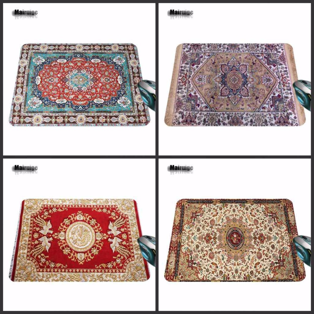 Mairuige Fashion Coloful Persian Carpets Design Computer Laptop Gaming Large Size Mouse Pad The best choice for gift 180*220*2mm