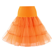 Sisjuly White Black Rose Red Yellow Orange Pink Purple Sky Blue Green Tulle Lace Skirts Women Long Vintage Petticoat Ball Skirt(China)