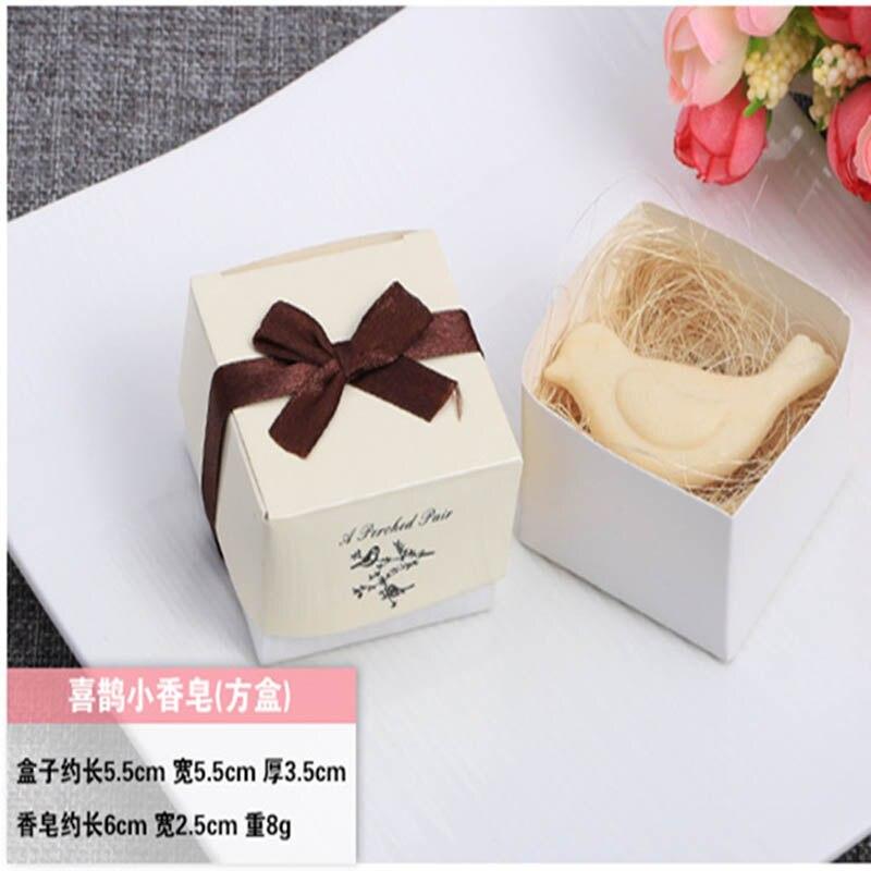 20 шт./лот мини-мыло ручной работы с ароматом для сувенир для свадебной вечеринки и детского душа подарок Свадебные сувениры Мыло для купания - Цвет: bird