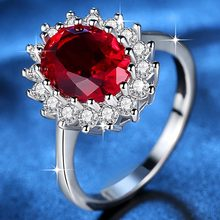 Beiver Fashion Flower CZ Wedding Rings for Women in