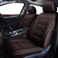 KADULEE пользовательские настоящие кожаные сиденья для MiNi Cooper R50 R52 R53 R55 R56 f54 F56 PACEMAN авто аксессуары автомобиль Стайлинг