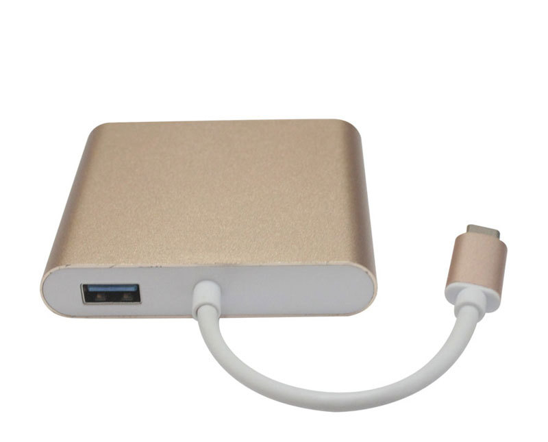 Convertisseur multifonction type-c vers HDMI + RJ45 + PDF + USB 3.0 usb3.1 vers HDMIConvertisseur multifonction type-c vers HDMI + RJ45 + PDF + USB 3.0 usb3.1 vers HDMI