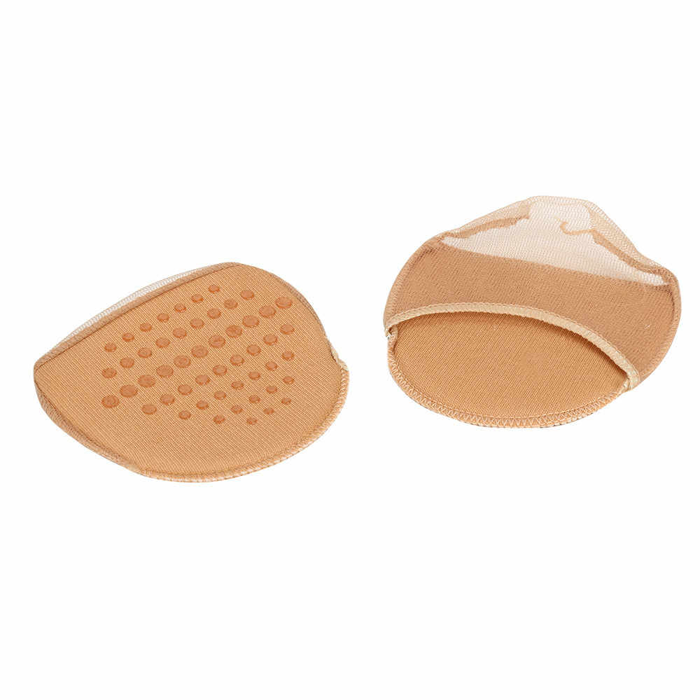 1Pair Slip Resistant Pads Invisible Anti-slip High Heeled Insert Shoes Pad Forefoot Half Yard Pad Pain Decreasing Insert