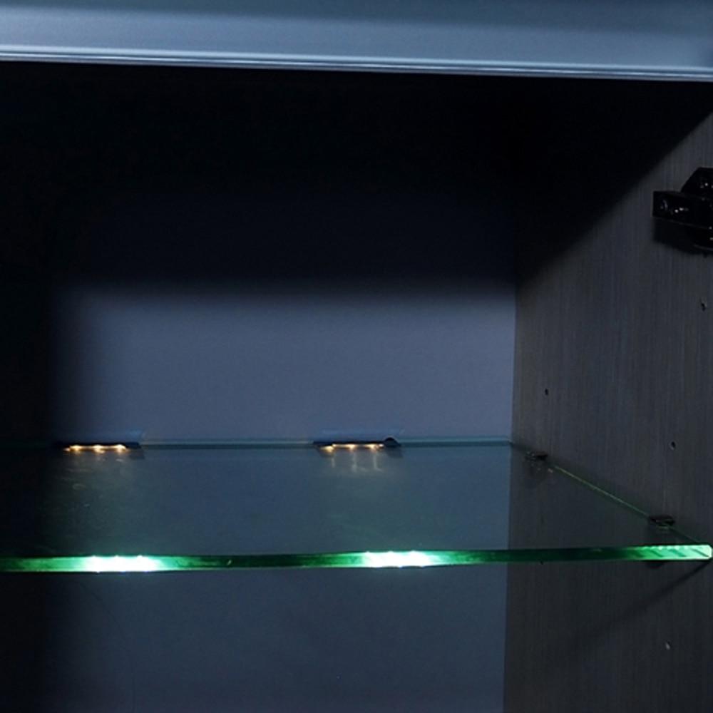Aiboo LED Onder Kast Verlichting voor Glas Rand Plank Back Side Clip ...