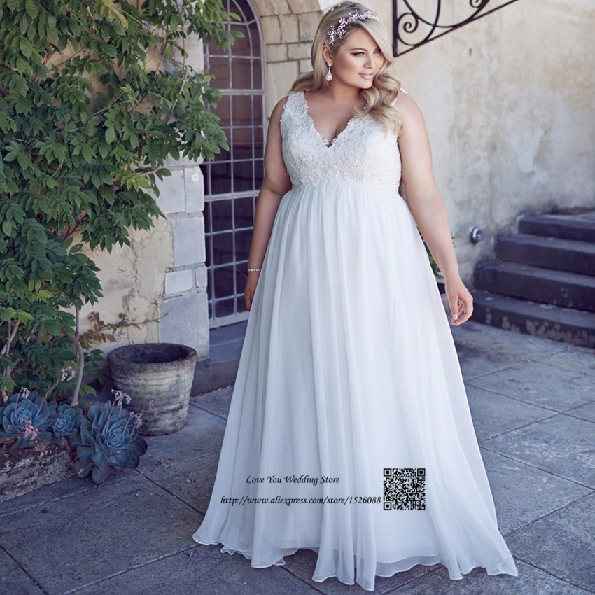 Vestido Branco Plus Size Maternity Wedding Dresses Empire Lace Bride Dress  for Pregnant Women V Neck Chiffon Beach Wedding GownsMaternity Wedding Dress Plus Size Promotion Shop for Promotional  . Plus Size Maternity Wedding Dresses. Home Design Ideas