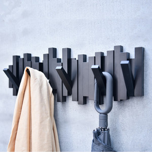 Image 5 - Creative hook behind the wall wall clothes clothes hanger living room home decoration The key to the door of the shelf on the wa