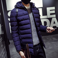 M-3XL 2016 moda casual de Invierno gruesa térmica parka de los hombres slim fit chaqueta de invierno los hombres abrigo de invierno parka hombres homme