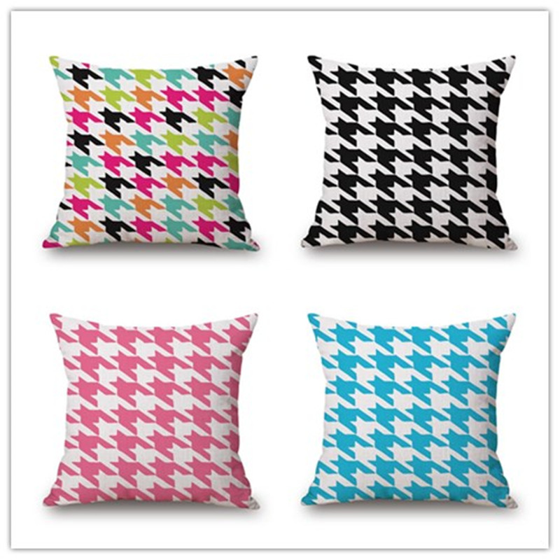 Top Fashion Western Style Geometric Printed Decor Cushion Pillow Car Almofadas Home Throw Pillow Fashion Cushions Fundas Cojines