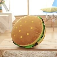 100%New pillow creative hamburger cute pillows Office sofa car Cushion pillow home products Christmas gifts