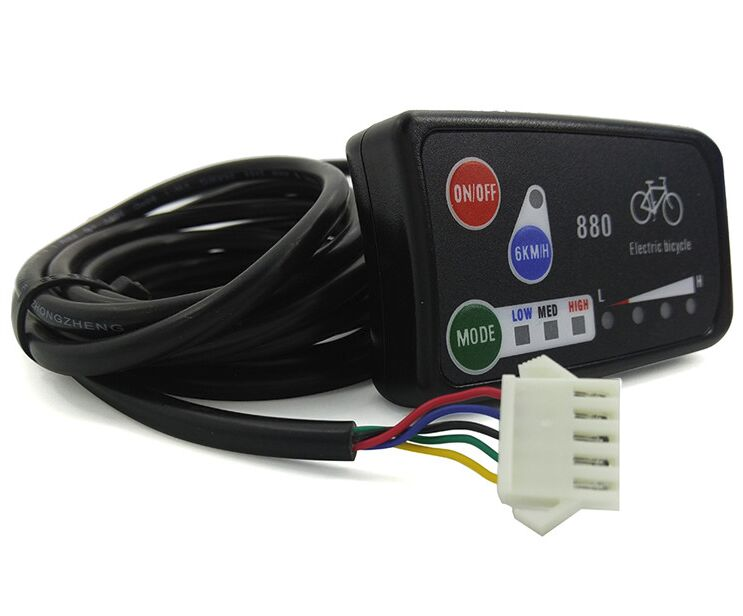24 v ou 36 v ou 48 v Velo Electrique KT LED 890 Panneau de Commande Electrique Pieces De Velo