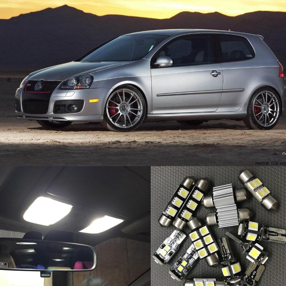 VW AMAROK 2010-2015 ERROR FREE INTERIOR CAR LED LIGHTS BULB KIT XENON WHITE