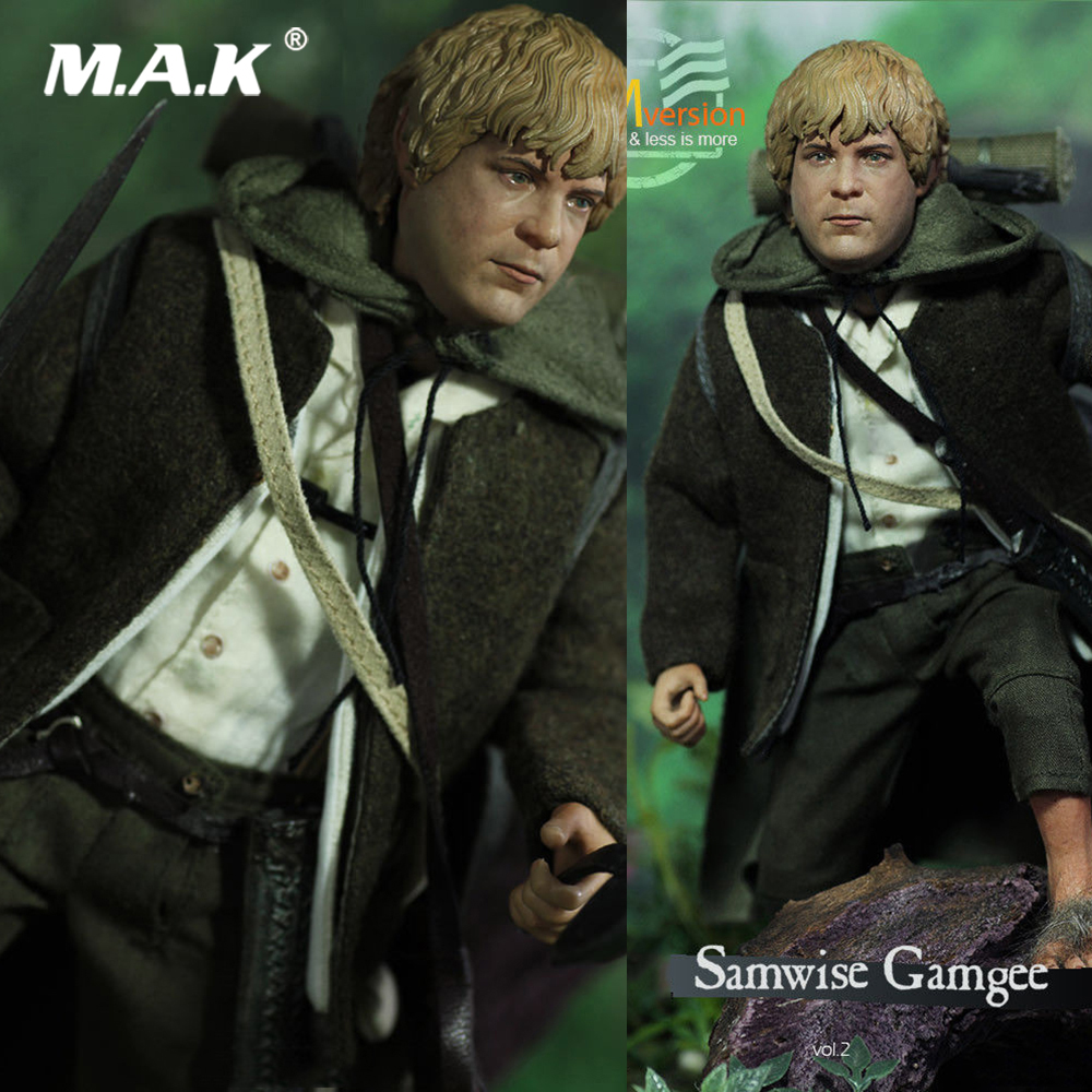 Collectible Full Set Figure 1/6 LOTR015S The Lord of the Rings Series Samwise Gamgee Sam Slim Version Model Toys for Fans Gift цены онлайн
