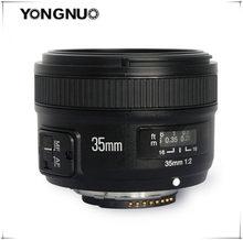 Yongnuo lente de 35mm yn35mm f2.0 grande angular fixo/principal lente de foco automático para canon 600d 60d 5dii 5d 5d 5d 500d 400d 650d 600d 450d