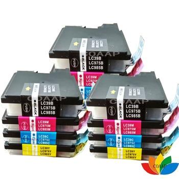 12 x LC985 LC39 LC975 kompatybilny wkład z atramentem do Brother DCP J125 J315W J515W MFC J265W J410 J415W J220 drukarki