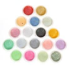 Nails Acrylic Powder Glitter Dust 12 Colors/PCS Nail Art Decoration Tools