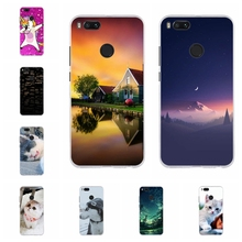 For Xiaomi Mi A1 5X Case Ultra-slim Soft TPU Silicone Cover Cute Animal Patterned Funda