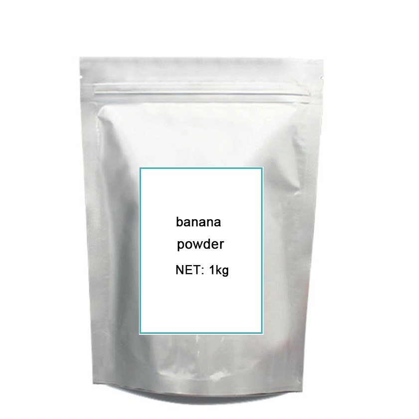 1KG pure banana freeze-dried pow-der with hot sale gmp certified banana freeze dried po wder 500g
