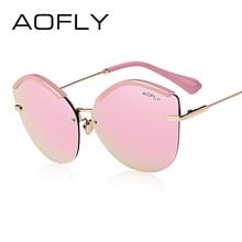 Aofly 2017 мода женщины cat eye солнцезащитные очки оригинальный бренд дизайн солнцезащитные очки женский сверхлегкий очки зеркало объектива uv400 af7948(China (Mainland))