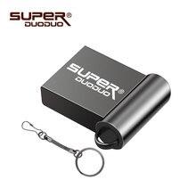 super mini metal usb flash drive 64GB 32GB 16GB 8GB 4GB flash drive portable 128GB memory stick Pendrive Storage flash disk