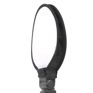 Image 3 - طوي على أعلى 40 سنتيمتر جولة مربع لينة فلاش الناشر Speedlight الفوتوغرافي Softbox ل ل NikonCanonYongnuoSonys ملحقات ستوديو الصور
