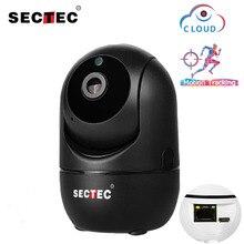 SECTEC 1080 P облако Беспроводной IP камера Intelligent Auto Tracking человека охранных видеонаблюдения сети Wi Fi Cam