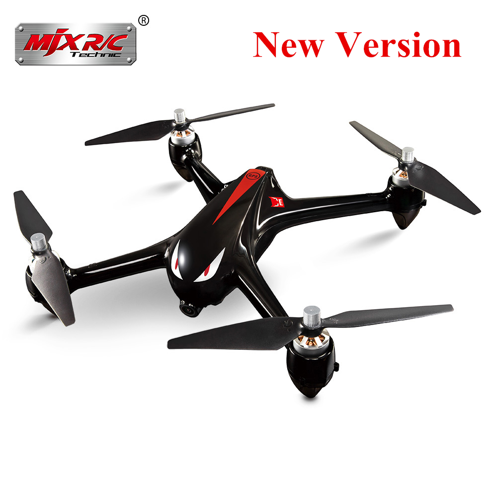 Original MJX Bugs 2 B2W Brushless RC Drone RTF 5GHz WiFi FPV 1080P Full HD / GPS Positioning / 2.4GHz 4CH Dual-Way Transmitter mjx bugs 3 rc quadcopter rtf black